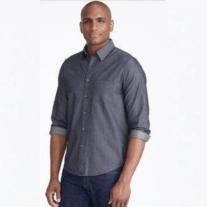 Untuckit Classic Chambray Shirt XXXL Grey